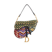Saddle bag in embroidered canvas £6,100.00